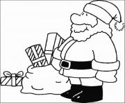 Printable christmas santa claus s8945 coloring pages