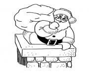 coloring pages of santa claus into a large pitf79b