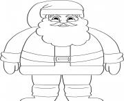 stand santa s for kids printable17c9 coloring pages