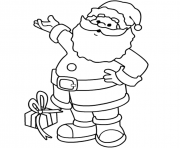 Printable christmas s printable santa claus69f3 coloring pages