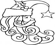 Printable santa free coloring christmas pages64bc coloring pages