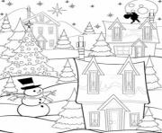 Printable printable s christmas nighta42f coloring pages