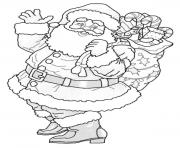 printable s christmas santaadc8 coloring pages