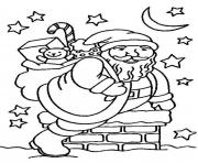 Printable into pit santa 0a24 coloring pages