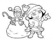 dora winter boots 14c5 coloring pages