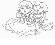 dora and diego s for kidsc39c coloring pages