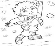 free diego s for kids4947 coloring pages