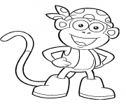 dora printable s boots character451a coloring pages