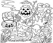 monster spooky halloween s for kids0f0e coloring pages