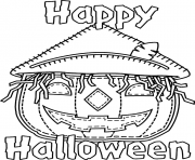 Print happy halloween s pumpkins free98dd coloring pages