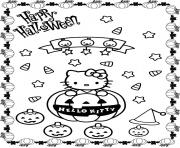 Print pumpkin halloween hello kitty s15f46 coloring pages