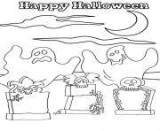 Print ghost halloween 7220 coloring pages