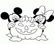 Print mickey halloween s for kids653b coloring pages
