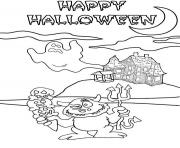 Print free s for kids halloween8147 coloring pages