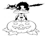 pluto halloween s printables for kids91b5 coloring pages