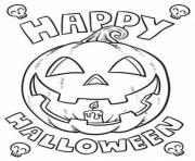 happy halloween 4d6b coloring pages