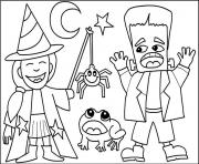 costumes for halloween s printable free4625 coloring pages