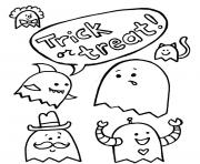 halloween s trick or treat6c77 coloring pages