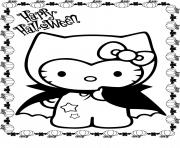 hello kitty s costume halloweenba0a coloring pages