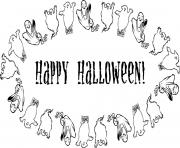 ghost happy halloween  printable904e coloring pages