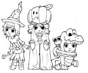 costumes halloween s printable kids89a3 coloring pages