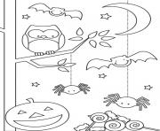 Print printable halloween s childrend1a4 coloring pages