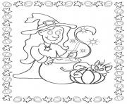 Print witch halloween s print outb46c coloring pages