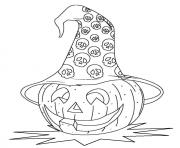 halloween s of a pumpkin headfd44 coloring pages