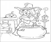 halloween s witchesb44d coloring pages