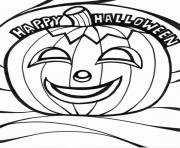 happy halloween pumpkin and s92ab coloring pages