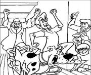 Print scooby doo cartoon s for halloween9ba6 coloring pages