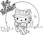 hello kitty mummy s printable for halloween065a coloring pages