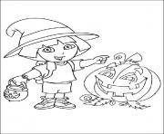 dora halloween s for kidsa82f coloring pages