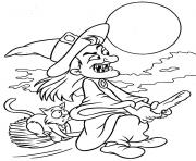 halloween pages for kids to color witchdd41 coloring pages