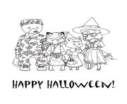 Print halloween  happy halloween1041 coloring pages