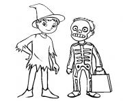 printable halloween costume s printable kidsc425 coloring pages