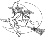 Print witch free halloween s for adultsea8d coloring pages