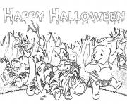 halloween s winnie the pooh and friends800e coloring pages