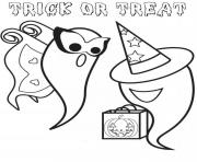 coloring pages printable halloween ghostd671 coloring pages