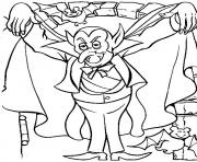 Print halloween s dracula spookya502 coloring pages