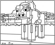 minecraft coloring kids spider coloring pages