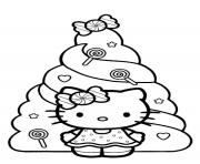 hello kitty  christmas dayd3c6 coloring pages