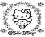 Print ballerina hello kitty b5d0 coloring pages