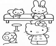 Printable hello kitty nurse 6abf coloring pages