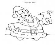 patrick as santa coloring pagea257 coloring pages