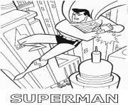 flying high superman s for print9988 coloring pages