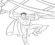 fighting superman s for kids printable56b0 coloring pages