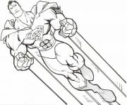 super strong superman coloring page8b19 coloring pages