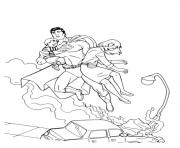 Printable superman saves people coloring page9644 coloring pages