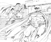 Printable batman and superman s for print freeea09 coloring pages